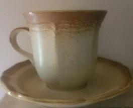 Six (6) Vintage ~ Mikasa ~ Whole Wheat ~ Loves Me ~ E8000 ~ Coffee Cups/... - $91.20