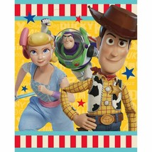 Toy Story 4 8 Ct Loot Favor Party Bags Plastic Buzz Woody Bo - $3.16