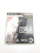 Playstation 3 Medal of Honor Limited Edition 2010 - $8.90