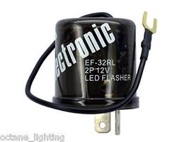 OCTANE LIGHTING 2 Pin Prong 12V Terminal Relay Electronic Flasher Switch Led Tur - $14.80