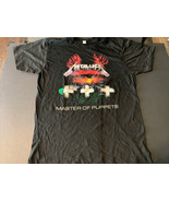 Metallica Master of Puppets T Shirt New XL New Old Stock 2007 Vintage Or... - $18.95