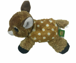 "WILD REPUBLIC 6"" PLUSH FAWN DEER STUFFED ANIMAL NIP :B19-1 - $12.50"