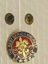 US Military 176th Support Battalion Insignia Pin - The Best Serve the Rest - $10.00