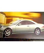 2004 mercedes cl55 amg cl600 cl500 owners sales brochure new original w215 - $24.70