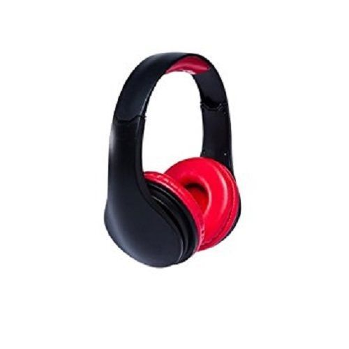 SAKAR iConcepts DeeJay XL Headphones Black Red