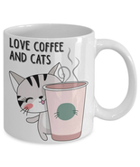Cute Cat Beer Mug Travel Coffee Tea Cup Friend Gift Birthday Gift - $7.99