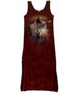 Golden Reflections Hand Dyed Native American Art Tank Top Sun Dress Size... - $38.69