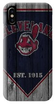 Cleveland Indians Wood Fence iPhone XS, XS Max, XR, X, iPhone 6 7 8 Plus Case - $16.99