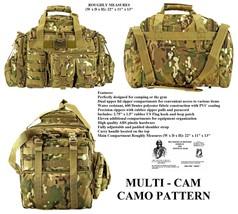 The Humvee Duffel Bag + Free Surv.Bracelet -Tactical/Military/Survival  ... - $48.49