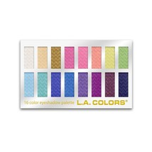 L.A. COLORS 16 Color Eyeshadow Palette, Haute, 1.02 Ounce (LA74202) - $66.59