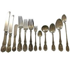 Florentine by Gorham Sterling Silver Flatware Set 12 Service 195 pcs Dinner - $18,995.00
