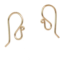 French Earwires - Gold image 3