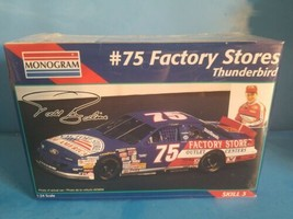 MONOGRAM #75 Todd Bodine's Factory Stores Thunderbird 1:24 Model Kit 246... - $18.69