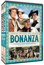 Bonanza The Official Fourth Season 4 Four Vol 1 2 DVD Set Series Western... - $52.46