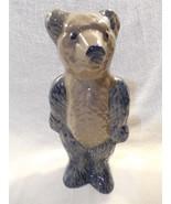 "1996 BBP Beaumont Brothers Pottery Salt Glaze Large Bear Figurine 9 1/4"" - $14.95"