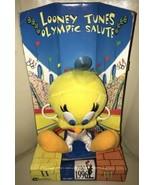 1996 Looney Tunes USA Olympic Salute Tweetie Bird Gymnast Plush Cartoon ... - $19.79