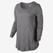 Hurley GTS0006620 Women's Staple Classic Shirt, Light Heather Grey - XS