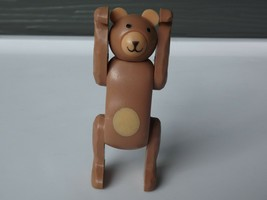 Vintage Fisher Price Little People Circus Bear #991 - $14.01