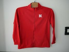 Crable NCAA Nebraska Cornhuskers Mens Full Zip Bonded Jacket Sz L NWT - $44.55