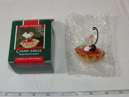 Hallmark Keepsake Ornament Cherry Jubilee Handcrafted ornament 1989 Pre-Owned - $16.05
