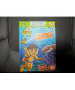 LEAP FROG TAG NICK JR GO DIEGO GO UNDERWATER MYSTERY BOOK NEW - $22.00