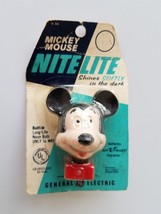 1965 vintage antique MICKEY MOUSE wall NIGHT LIGHT older Walt Disney Pro... - $42.50