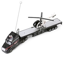 Wonderful Gift Shop Remote Control Big Rig Flatbed Semi Trailer Truck wi... - $46.62