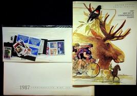 1987 Commemorative Stamp Collection Sealed Mint Stamp Set USPS - $18.95