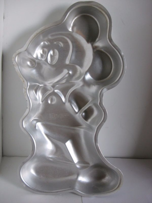 Primary image for MICKEY MOUSE Full Body Wilton Cake Pan 1978 Vintage 515-1805 Walt Disney