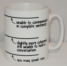 You May Speak Now Coffee Mug Can Be Personalised Funny Breakfast Tea Cup... - $9.23