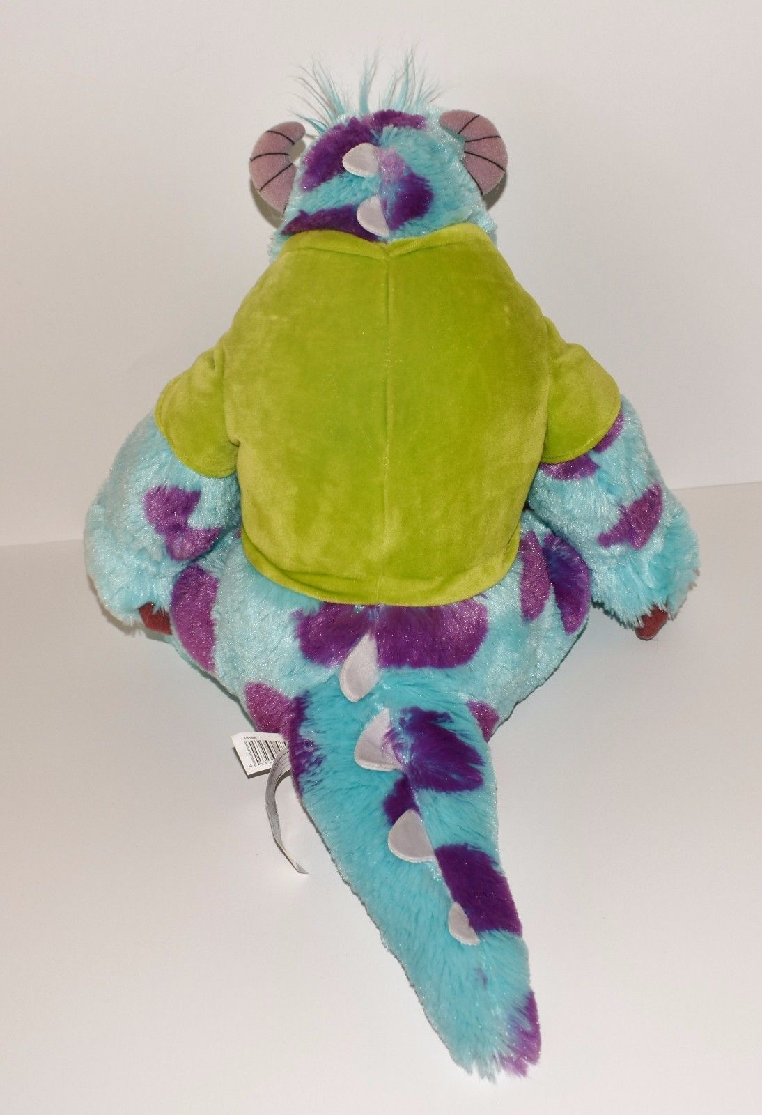 "New Plush Disney Pixar Monsters University Sulley Oozma Kappa Green Shirt 12"""