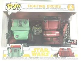 Funko Pop, Star Wars Set of 2 Fighting Droids Figures, Game Stop Exclusive, NEW - $10.88