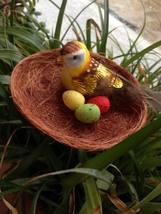 Easter Bird Egg Nest Decorations Spring Garden Ostern Home Decor Happy E... - $7.88