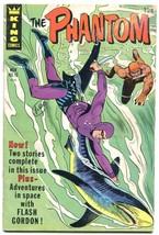 THE PHANTOM #19 '66-KING COMIC-SHARK COVER FLASH GORDON VG- - $31.53