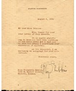 FLOYD GIBBONS Autograph letter, nicely signed - $29.69