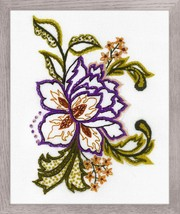 Flower Sketch Stitch Kit Riolis - $23.00