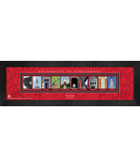 Personalized University of Cincinnati Campus Letter Art Framed Print - $39.95