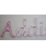Wood Letters-Nursery Decor-Shabby Chic Pink- Price per letter-Custom made - $12.50