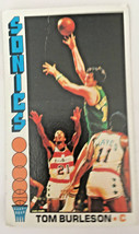 1976 Topps Basketball Sonics Tom Burleson #41 - $8.11