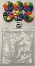 2002 Trivial Pursuit Disney Pixar The Animated Picture Ed. Replacement Tokens - $9.79