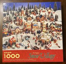 Springbok The Original Snow Village by Dept 56 1000 Pc Christmas Puzzle ... - $17.67