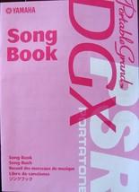 Yamaha Song Book for DGX Portable Grand & PSR Portatone Keyboards 27 Son... - $14.10