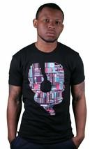 Bench UK DISC HEAD 2XL XXL Tee Black Short Sleeve Cotton Ribbed Crewneck T-Shirt
