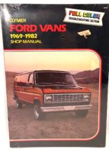 Vintage Clymer Ford Vans 1969-1982 Shop Repair Manual Brand New Factory Sealed - $14.99