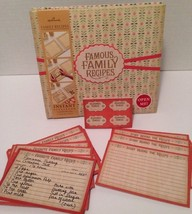 Hallmark Family Recipes Instant Scrapbook NEW Embellished Pages, Recipe ... - $29.99