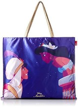 Disney Aladdin Jasmine ROOTOTE Scarf Bag Larger size With zipper  for Adults - $78.21