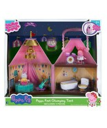 PEPPA PIG Peppa Fest Glamping Tent with Peppa and Suzy Sheep Figures NIB... - $39.99