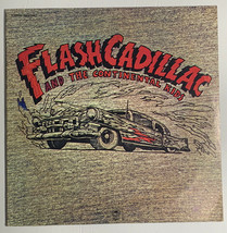 Flash Cadillac and The Continental Kids Self-Titled LP Vinyl Record VG 1972 - $14.65