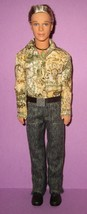 Barbie Ken Fashion Fever Boy Rooted Hair Retired Mold 2006 Blaine Paisle... - $20.00