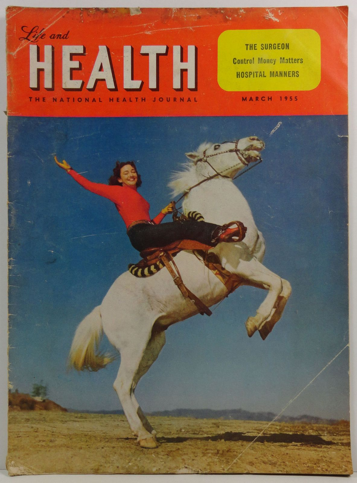 Life and Health Magazine March 1955 The National Health Journal